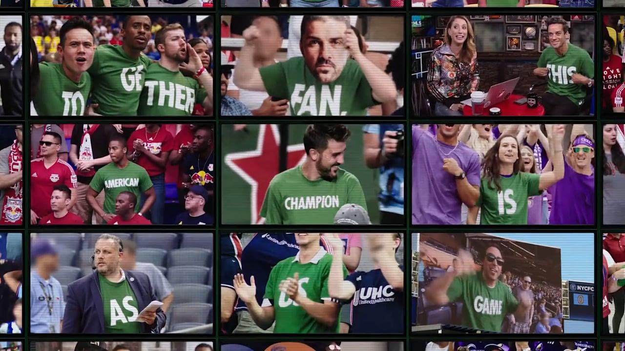 """""""Soccer Is Here"""" for Heineken"""