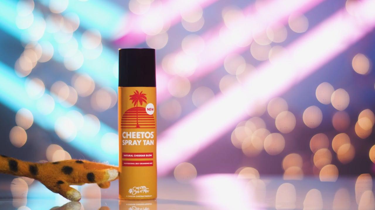 Cheetos Spray Tan
