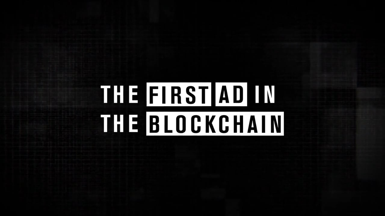 "TD Ameritrade ""First Ad in the Blockchain"""