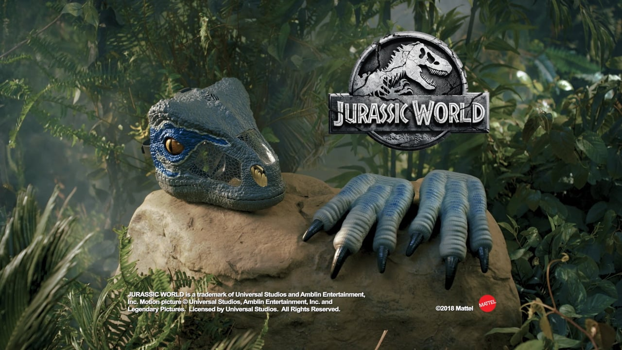 Jurassic World Chomp & Roar Mask TVC