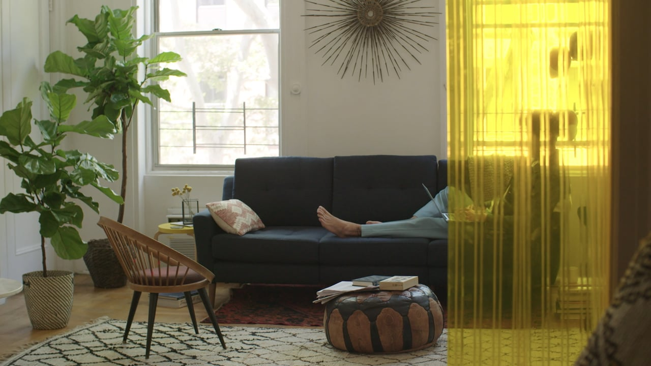 Burrow Make Yourself at Home Campaign