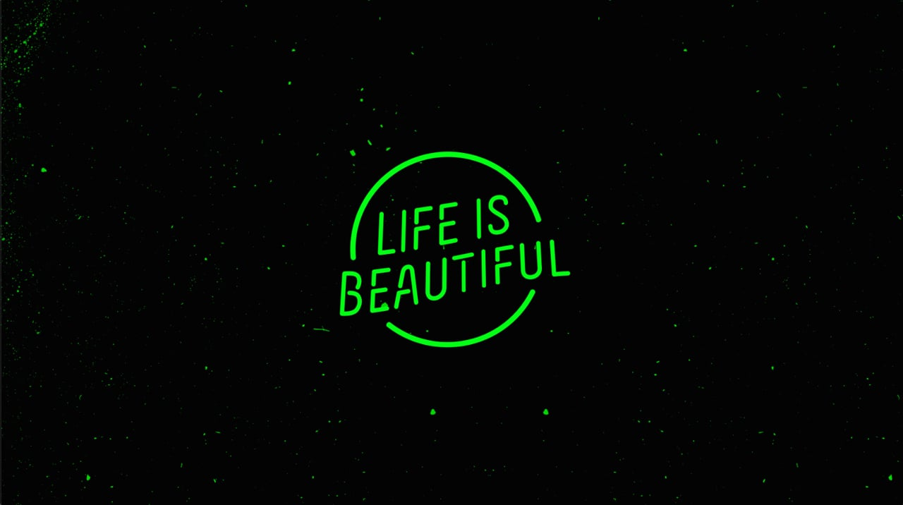 Life Is Beautiful—Motion Graphics Art Direction