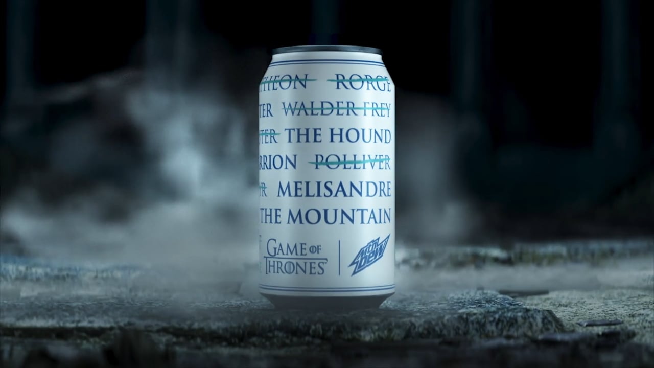 MTN DEW x Game of Thrones