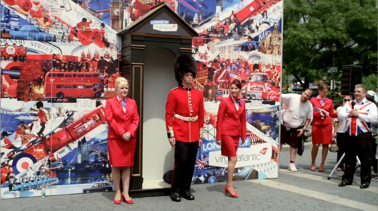 Virgin Atlantic - Union Jack Square