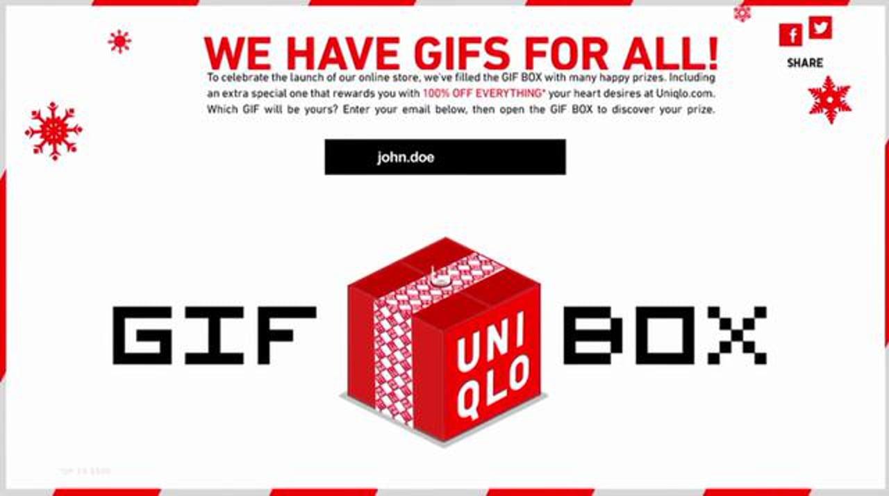 UNIQLO: GIF BOX