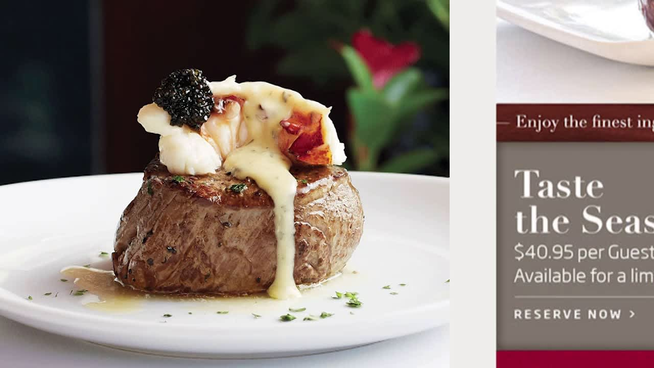 Fleming's Steakhouse | Branding and Website Redesign