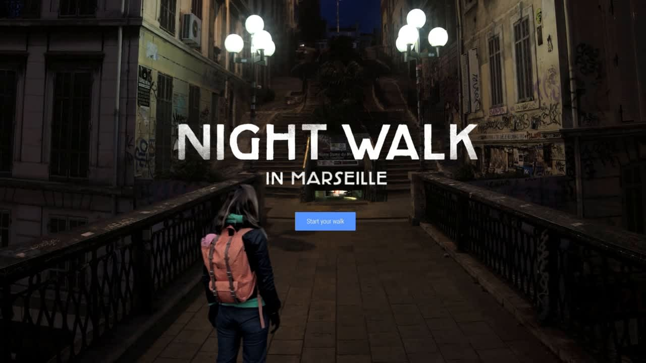 Google Night Walk