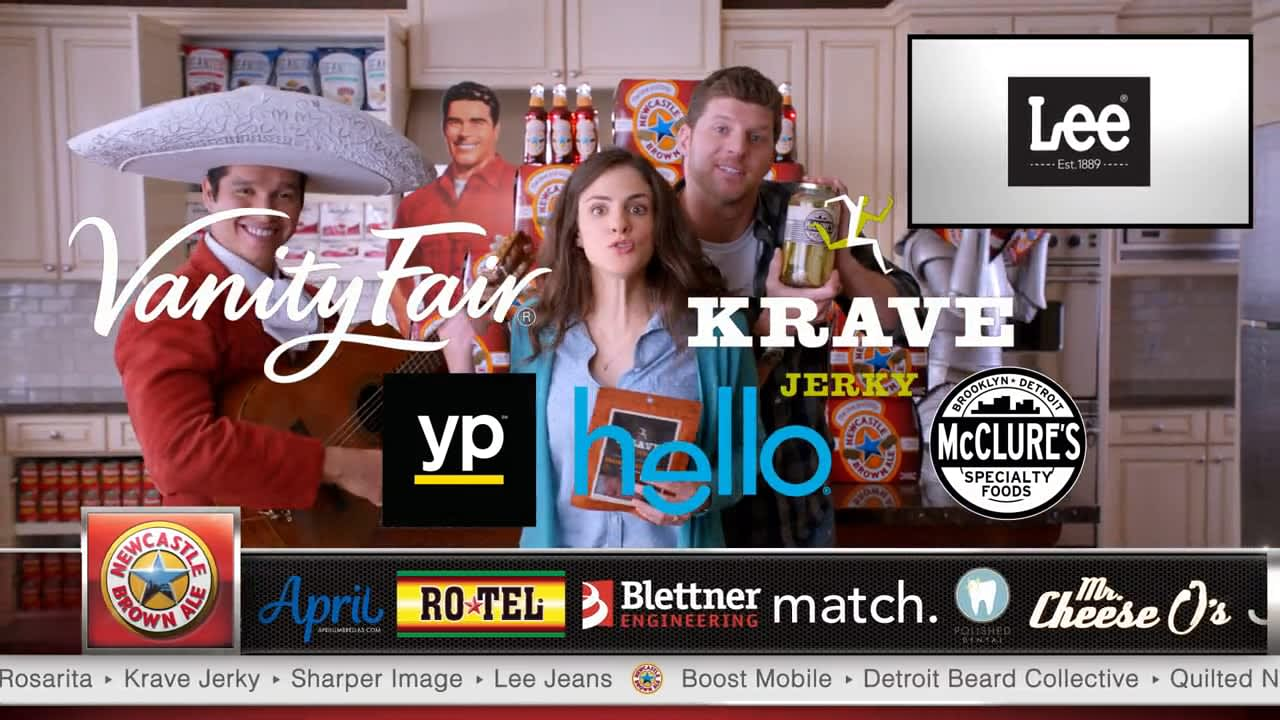 "Newcastle Brown Ale ""Band of Brands"""