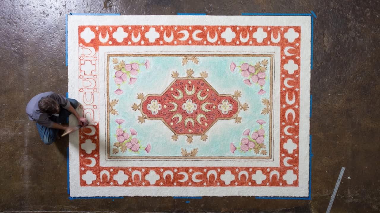 """LifeProof - """"Carpet Artist"""""""
