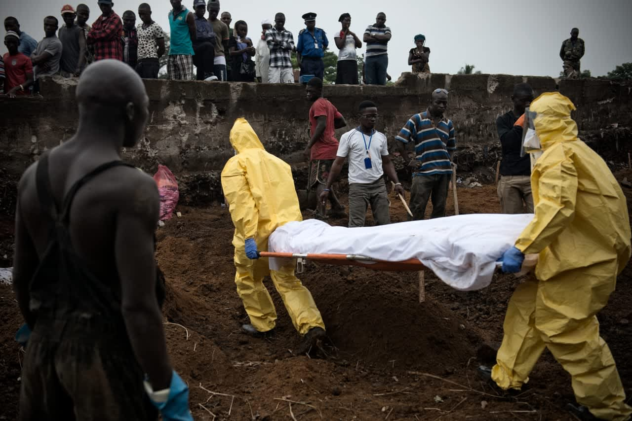 NATIONAL GEOGRAPHIC: The Fearless Ebola Hunters of Sierra Leone