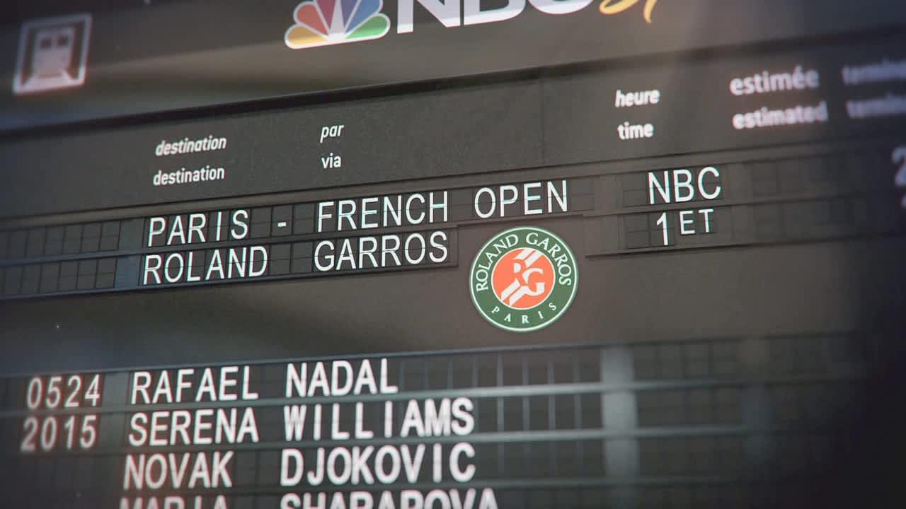 NBC Sports French Open Promo