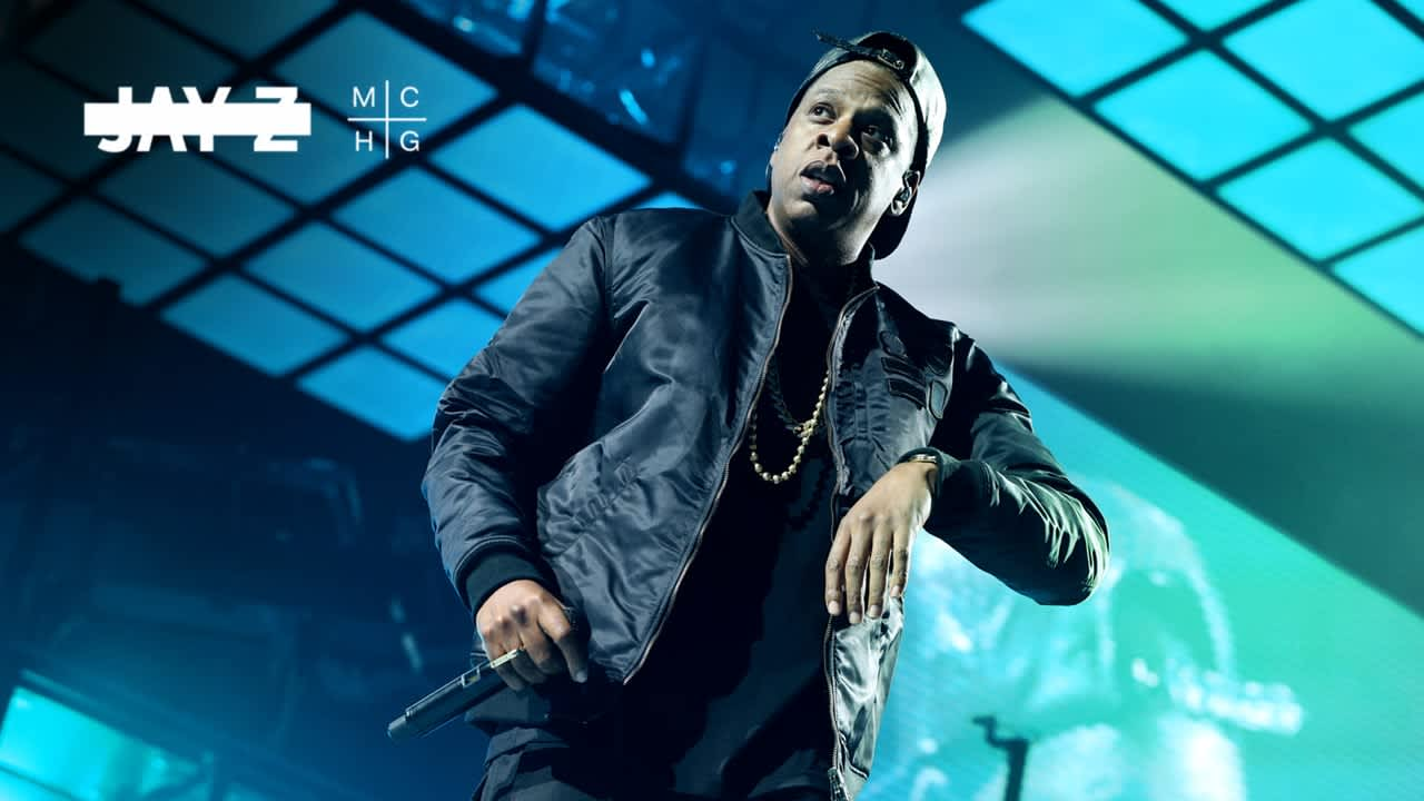 JAY Z TOUR VISUALS