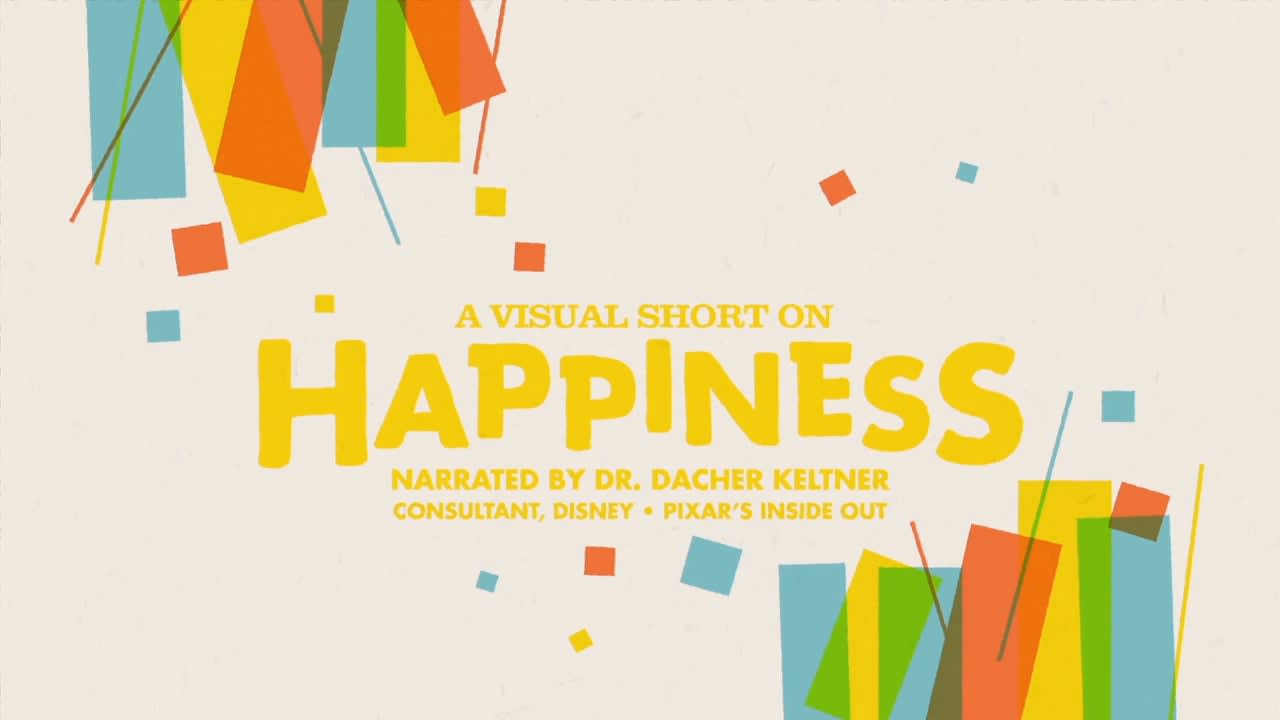 A Visual Short on Happiness