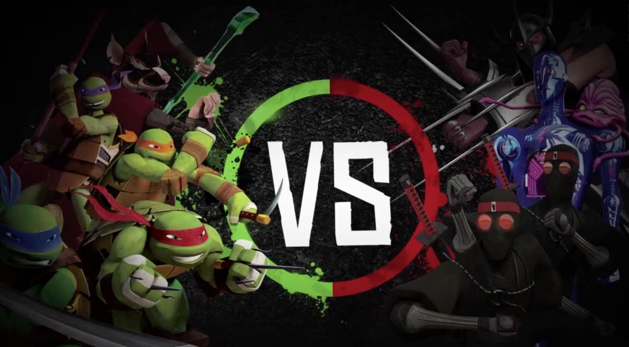Nickelodeon/ Turtles VS Foot