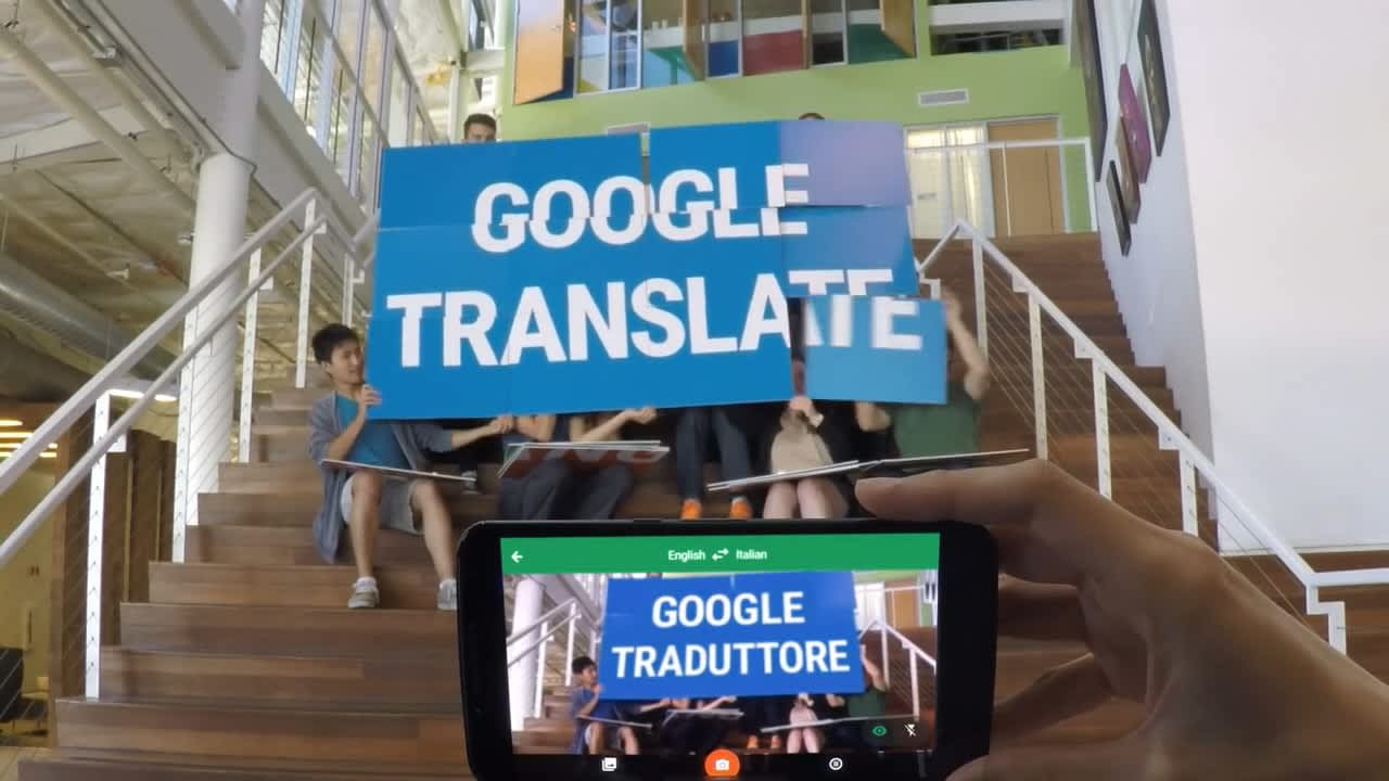"Google Translate App ""La Bamba"""