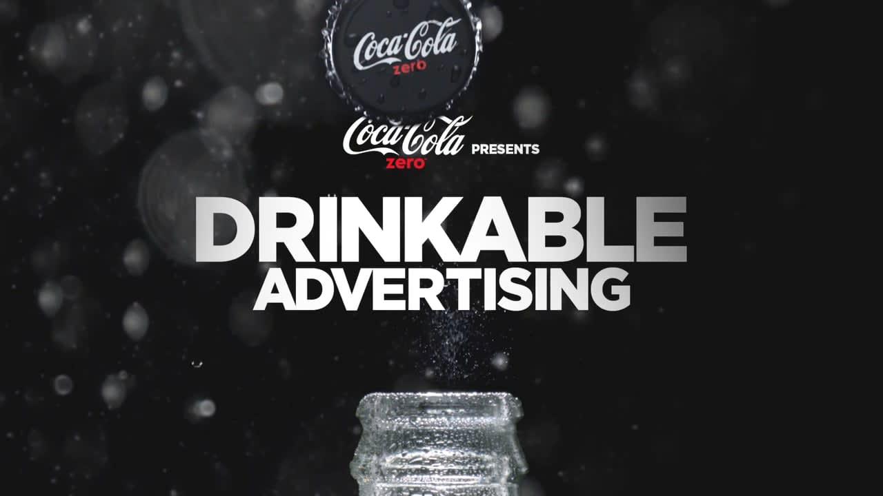 Drinkable - Coke zero