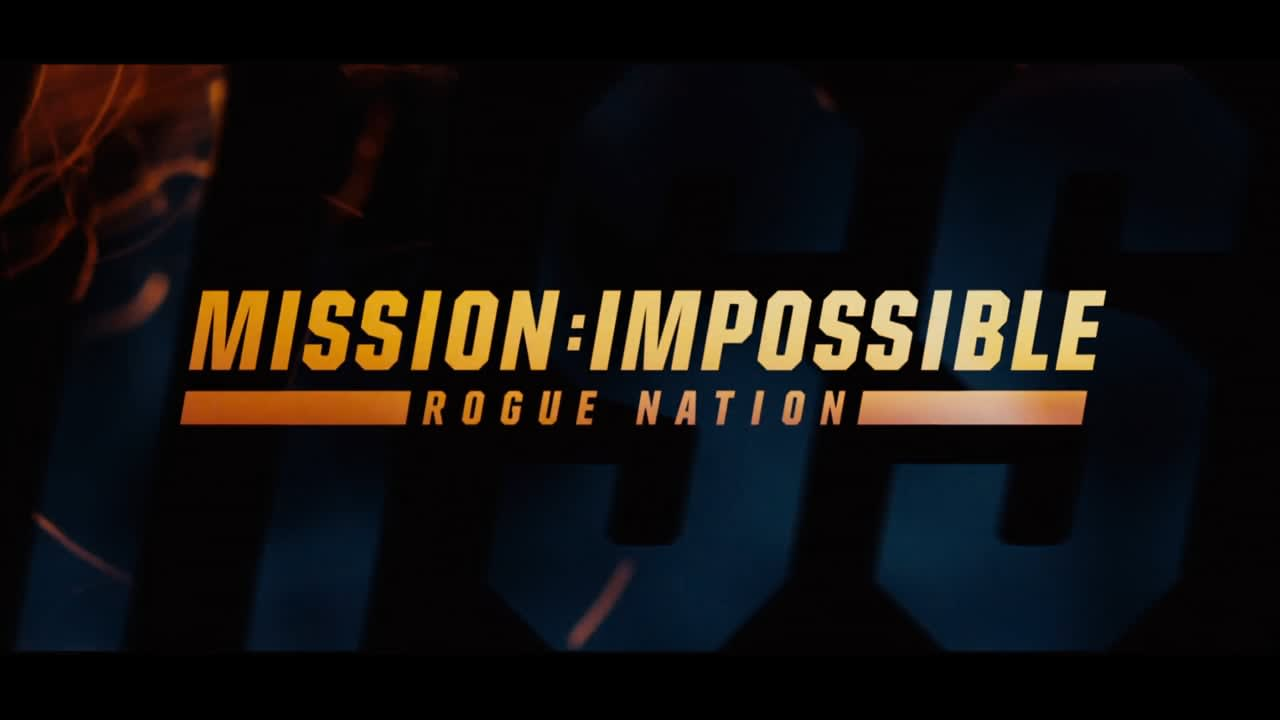 Mission:Impossible Rogue Nation Main Titles