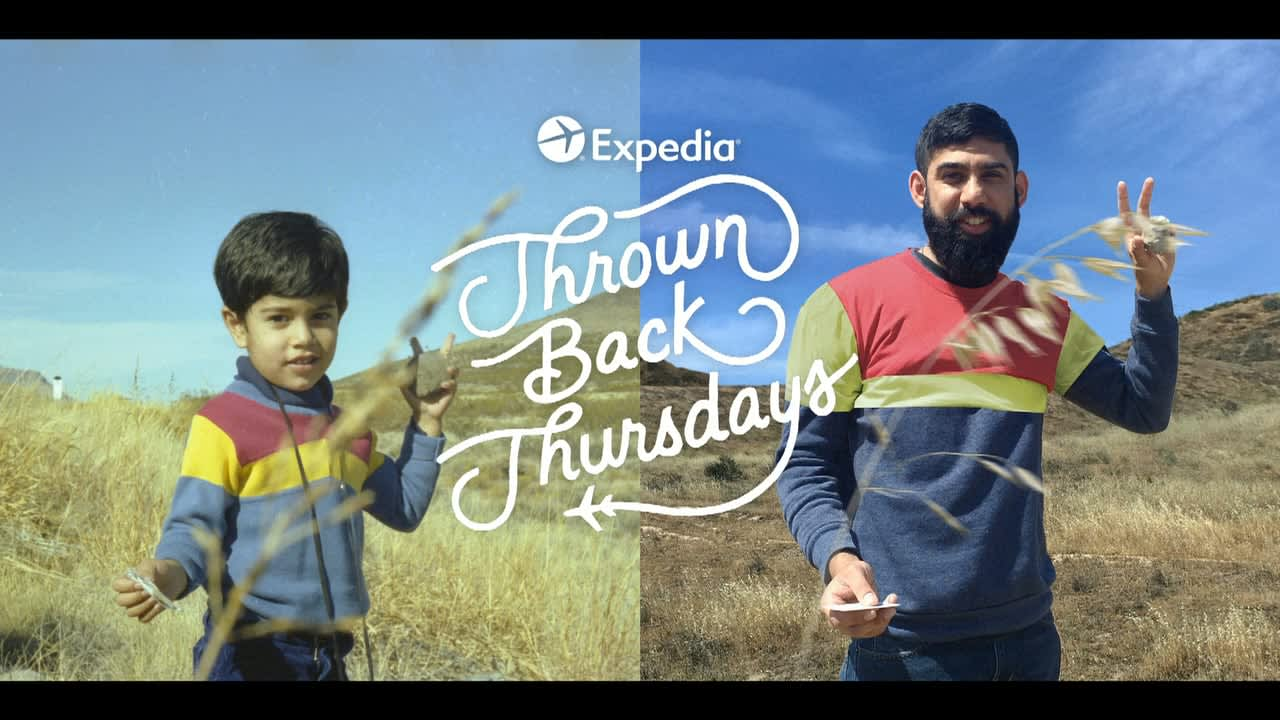 Thrown Back Thursdays, Expedia