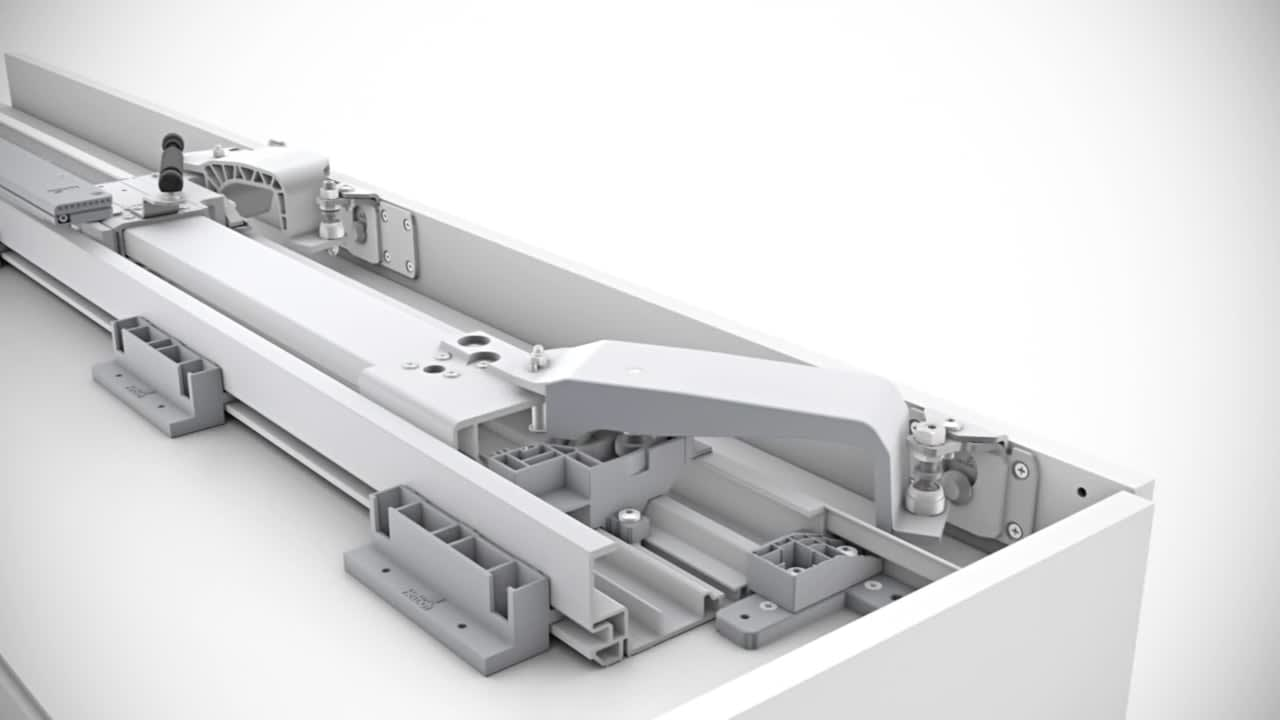 Hettich InLine XL 3D Animation