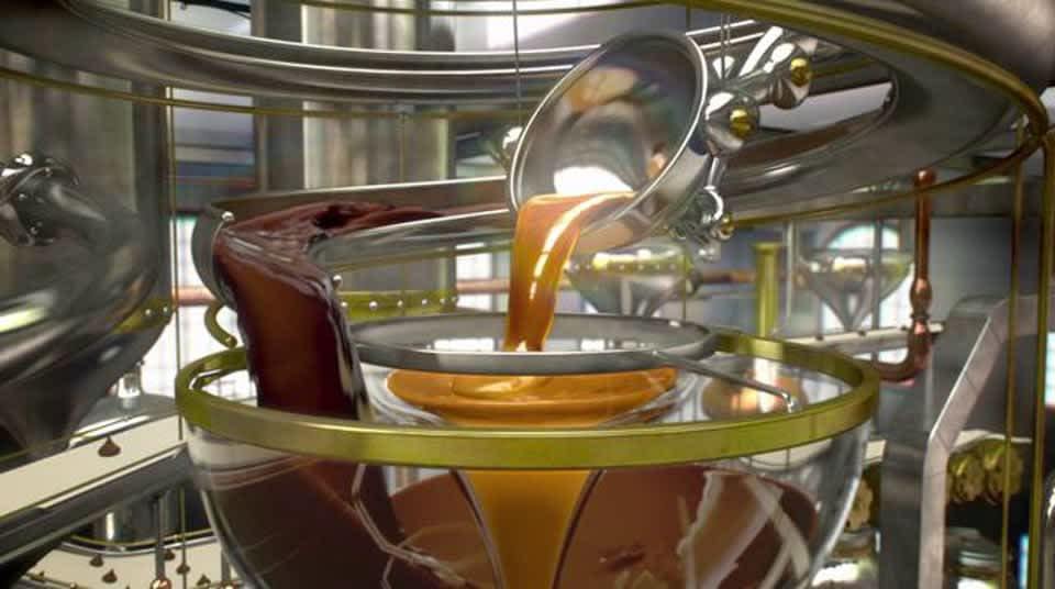 "Hershey's Kisses ""Caramel Machine"""