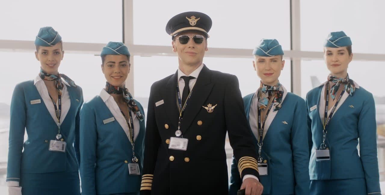 Aquarius uniforms.