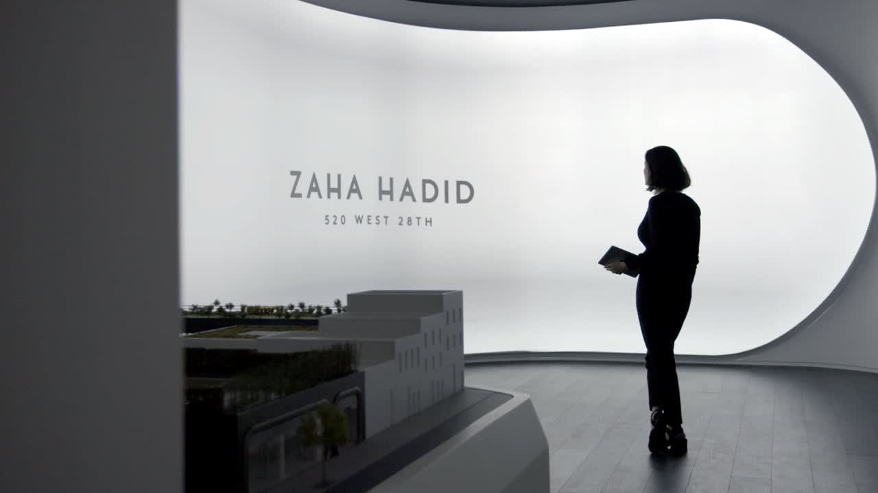 Zaha Hadid's 520 West 28th Sales Center