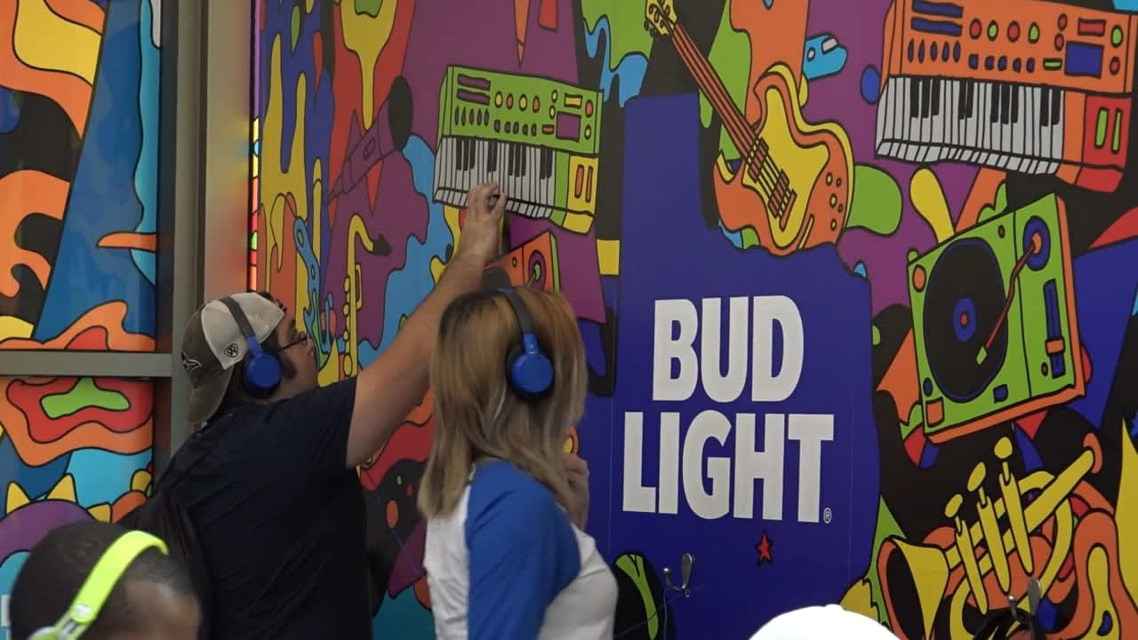 SXSW Bud Light - Conductive Ink
