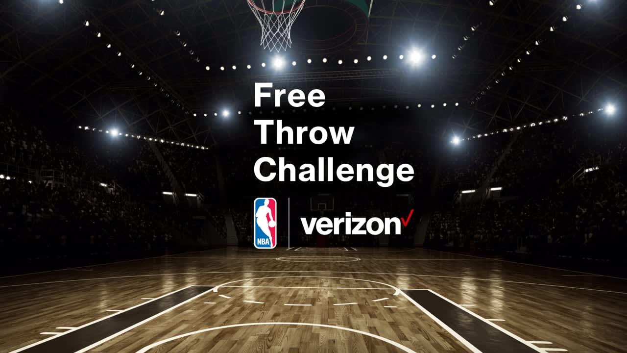 "Verizon ""NBA Free Throw Challenge"""