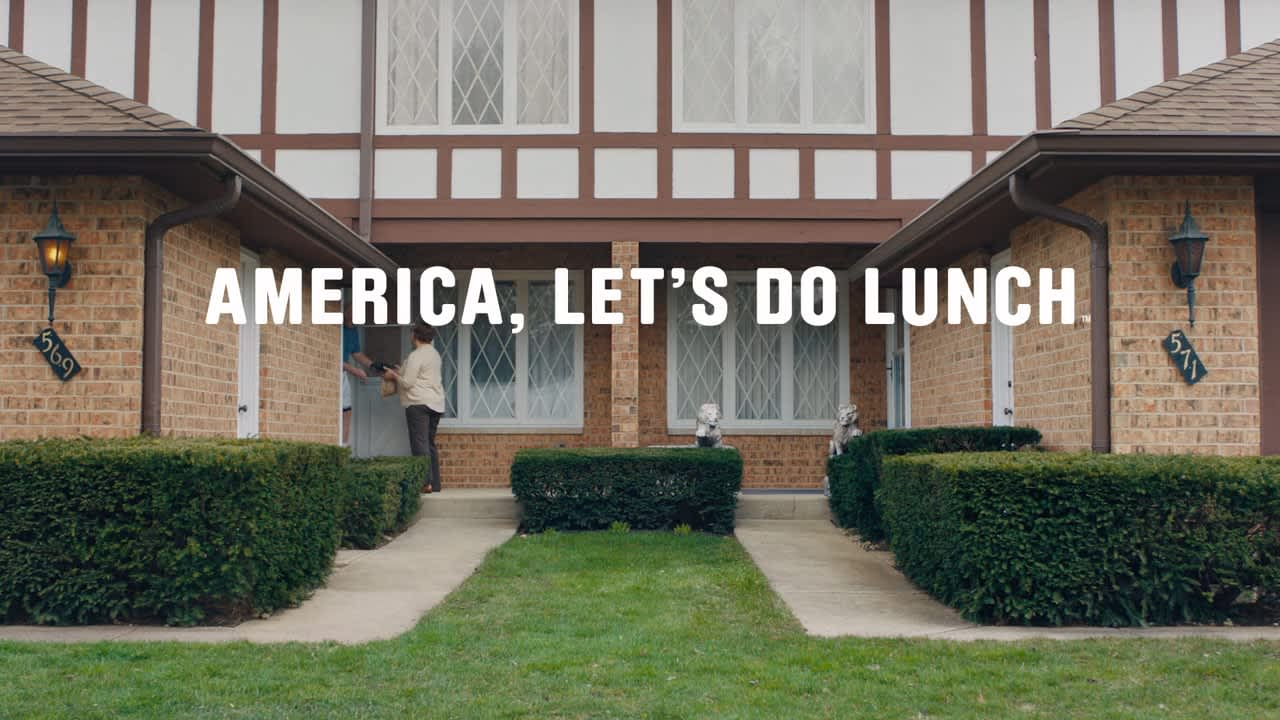 """Meals on Wheels """"America Let's Do Lunch"""""""