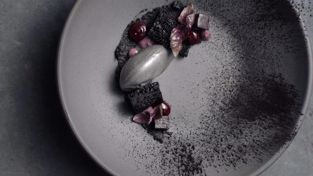 Black Sesame. Lazy Bear. San Francisco. California. Chef Maya Erickson.