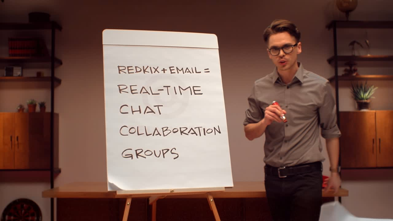 """Redkix """"Make Your Email Work For Work"""""""