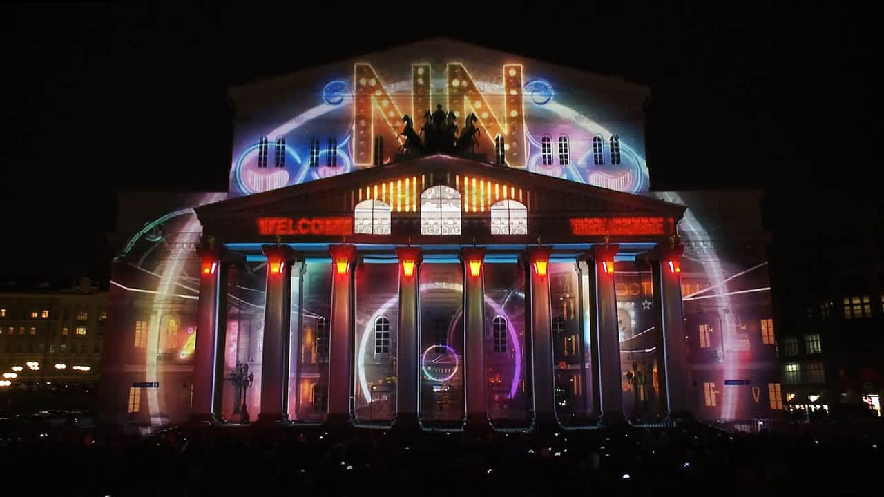 Bolshoi Theatre Projection Mapping