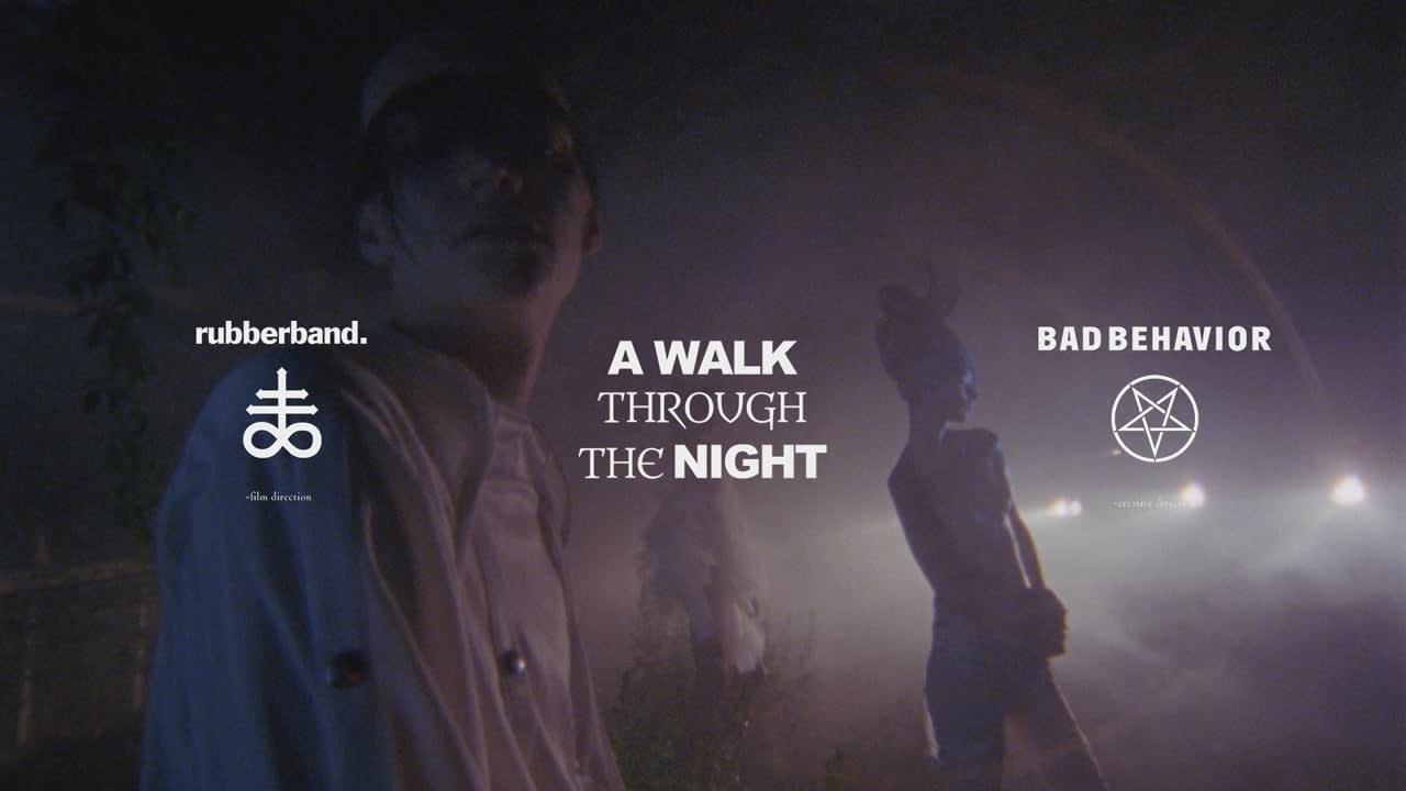 a walk through the night | king kong magazine