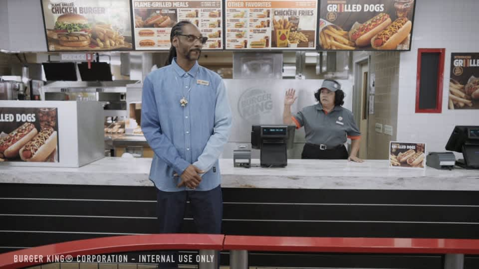 "Burger King ""Snoop Dogg"""