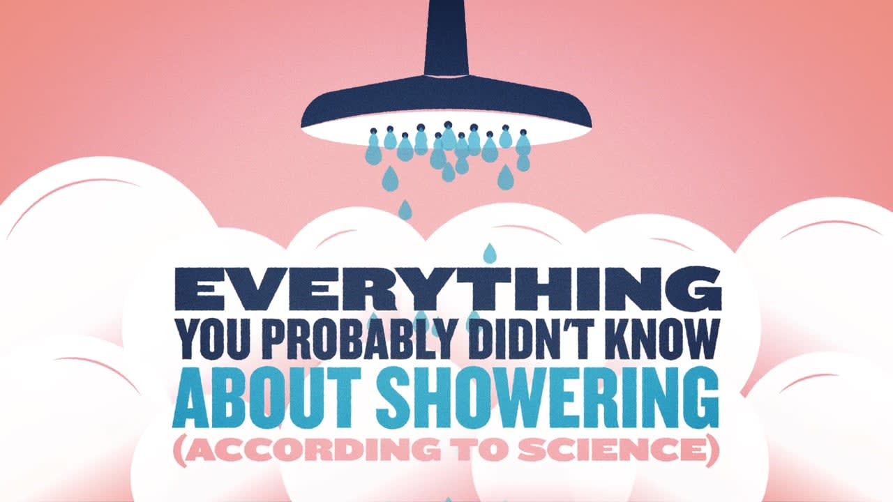 Everything You Probably Didn't Know About Showering