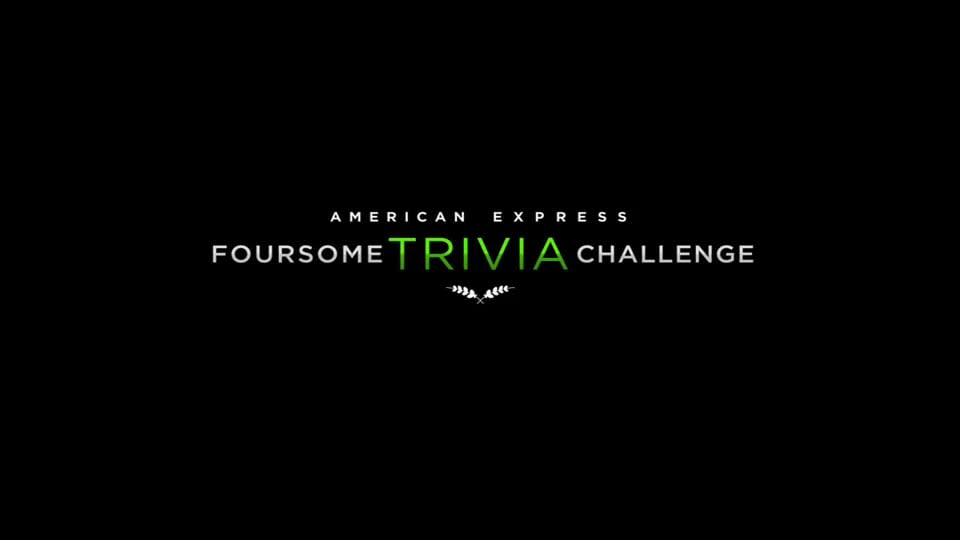 """American Express """"Foursome Trivia Challenge"""""""