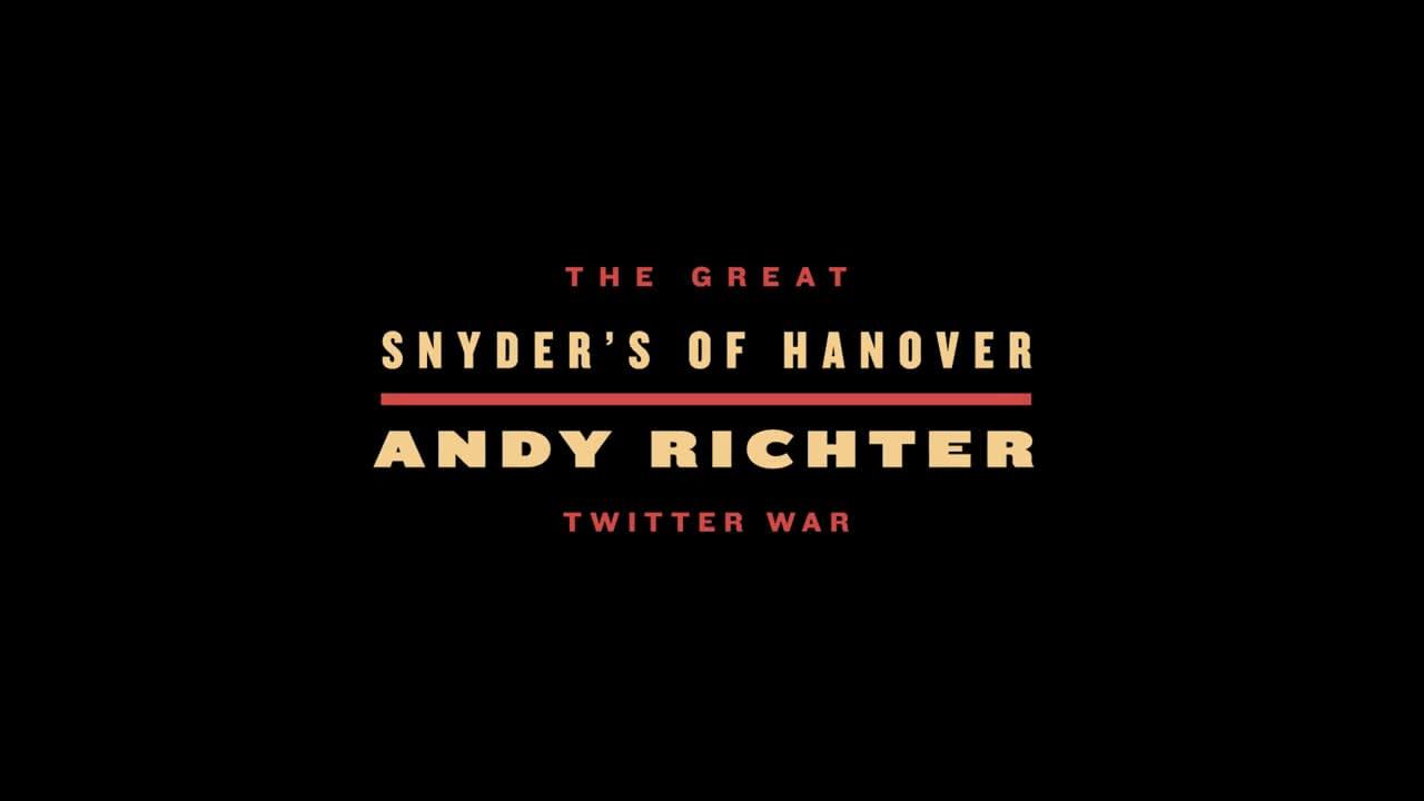 Snyder's of Hanover - Andy Richter Twitter War