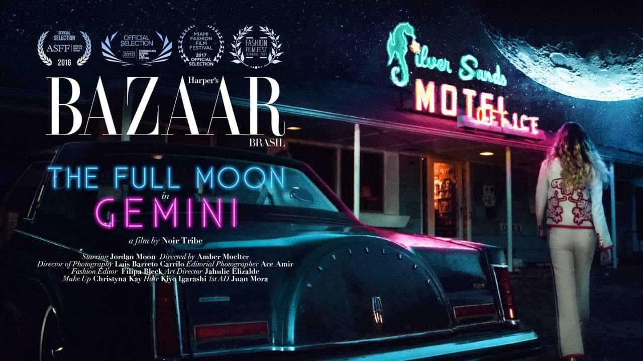 "HARPERS BAZAAR BRASIL Cover Fashion Film - ""The Full Moon in Gemini"""
