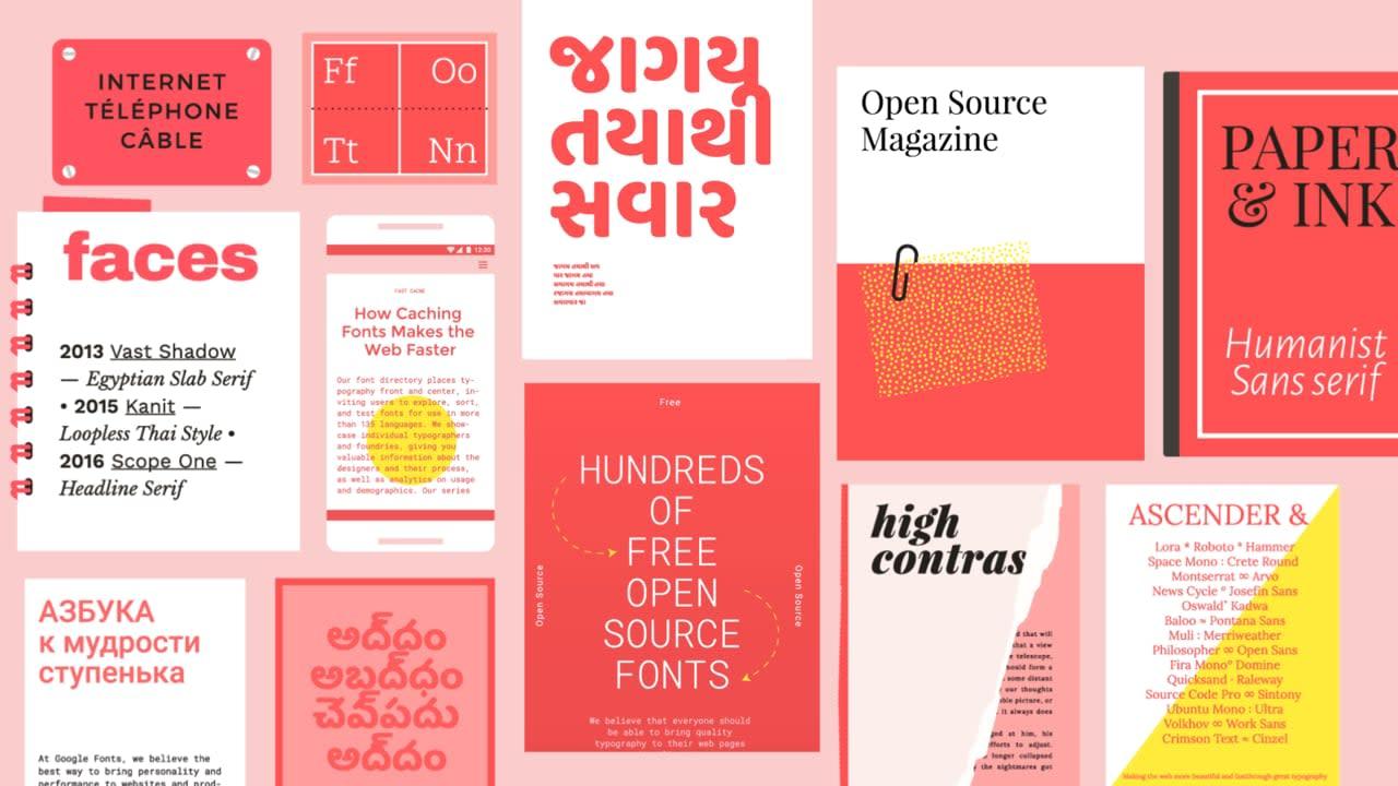 Google Fonts Relaunch