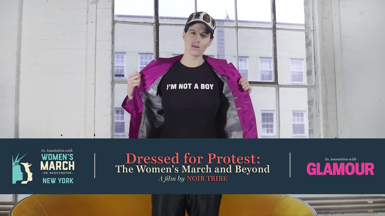 DRESSED FOR PROTEST: THE WOMEN'S MARCH & BEYOND - In Association with Glamour & The Women's March on Washington - NYC