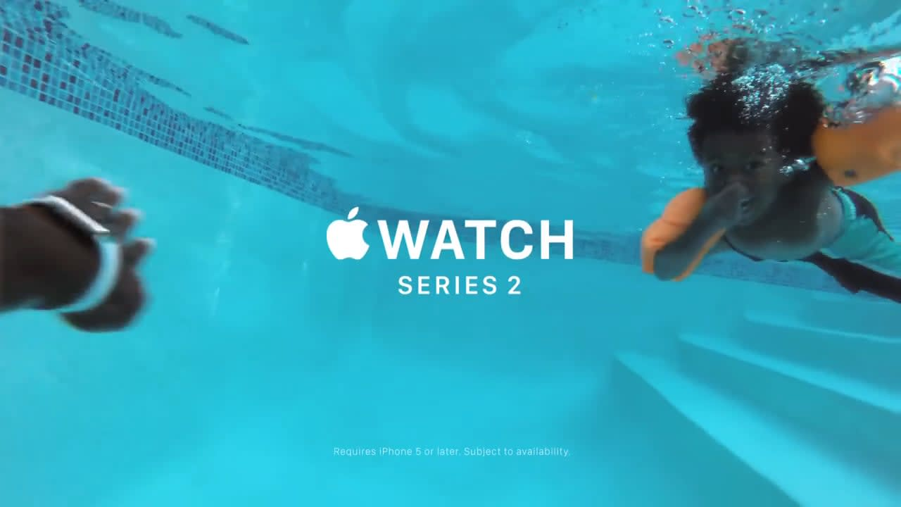 Apple Watch - Go Swim