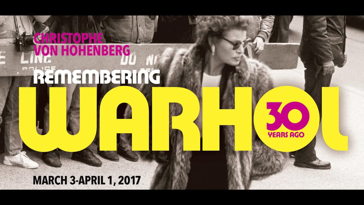 Remembering Warhol: 30 Years Ago