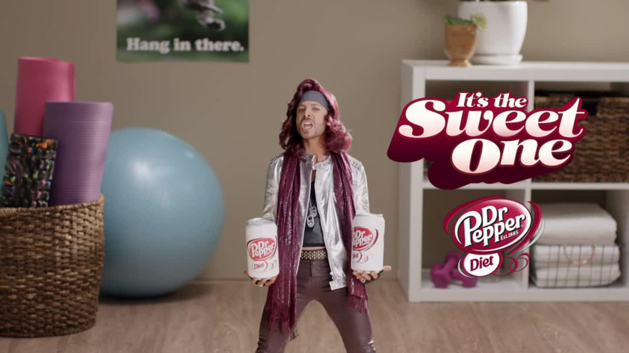 "Diet Dr Pepper ""It's The Sweet One"""