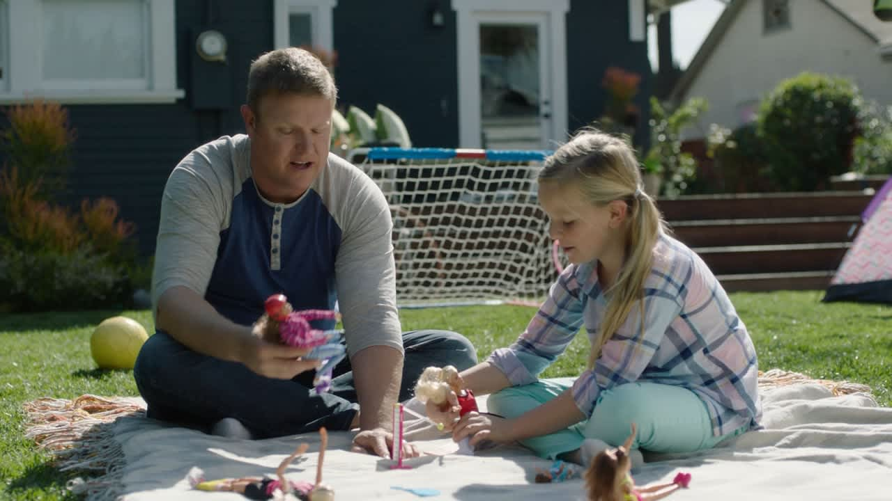 """""""Dad's Who Play With Barbie"""""""