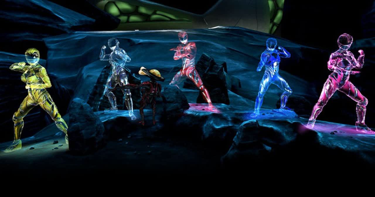 Power Rangers VR experience