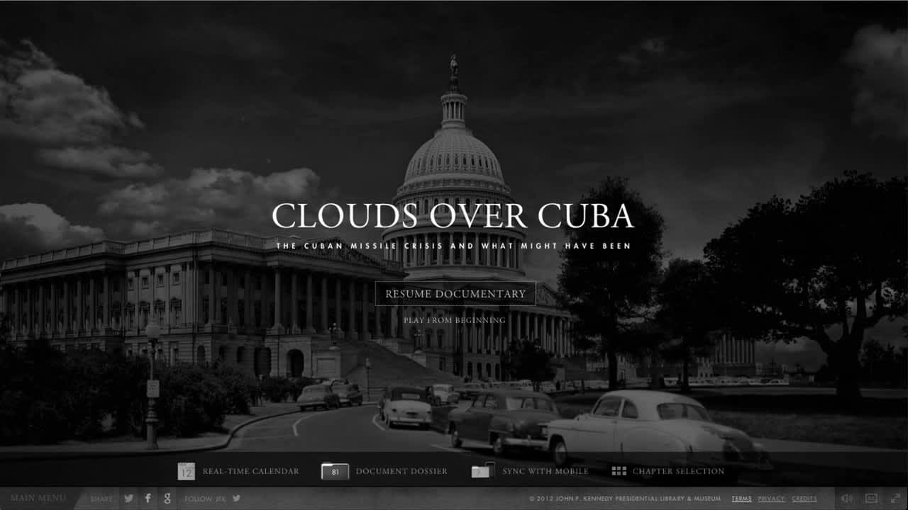 Clouds Over Cuba: JFK Presidential Library and Museum