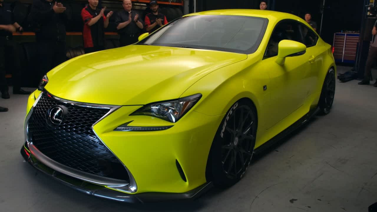 Lexus RC Real Time