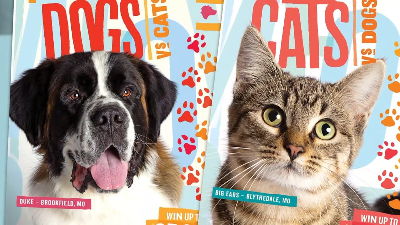 Missouri Lottery: Cats VS Dogs