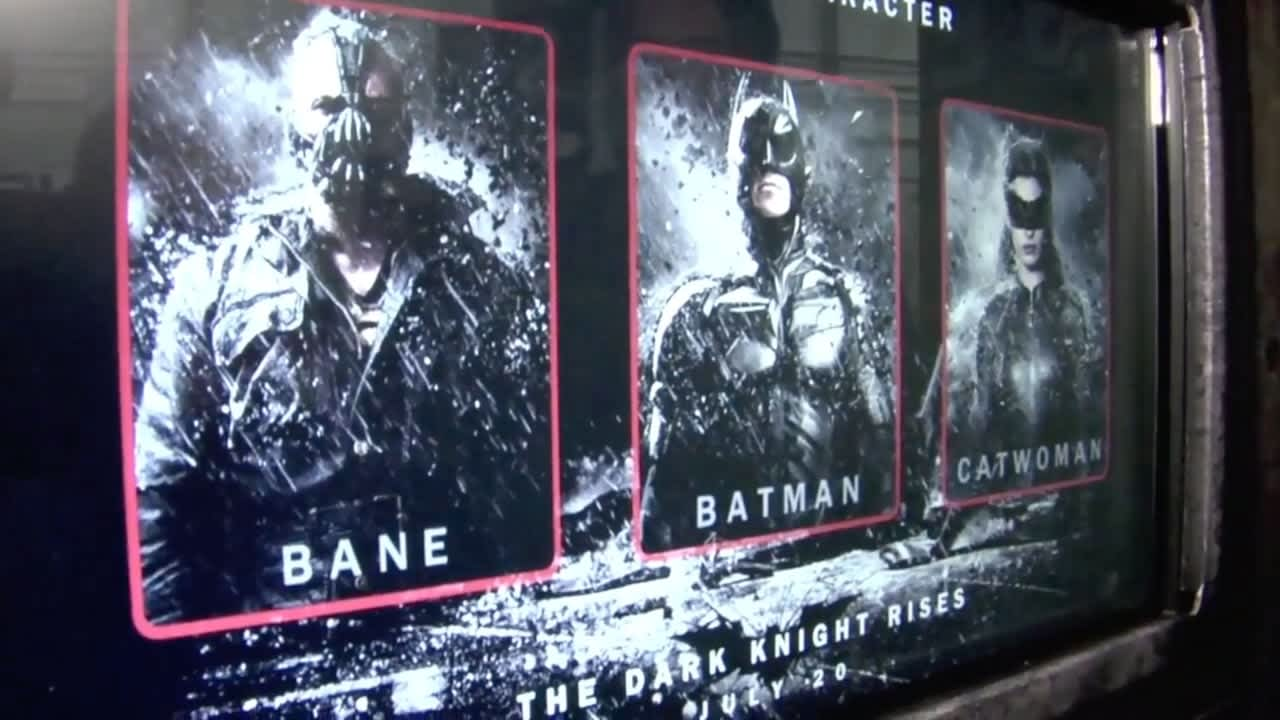 Dark Knight Rises In-Theater Interactive Experience