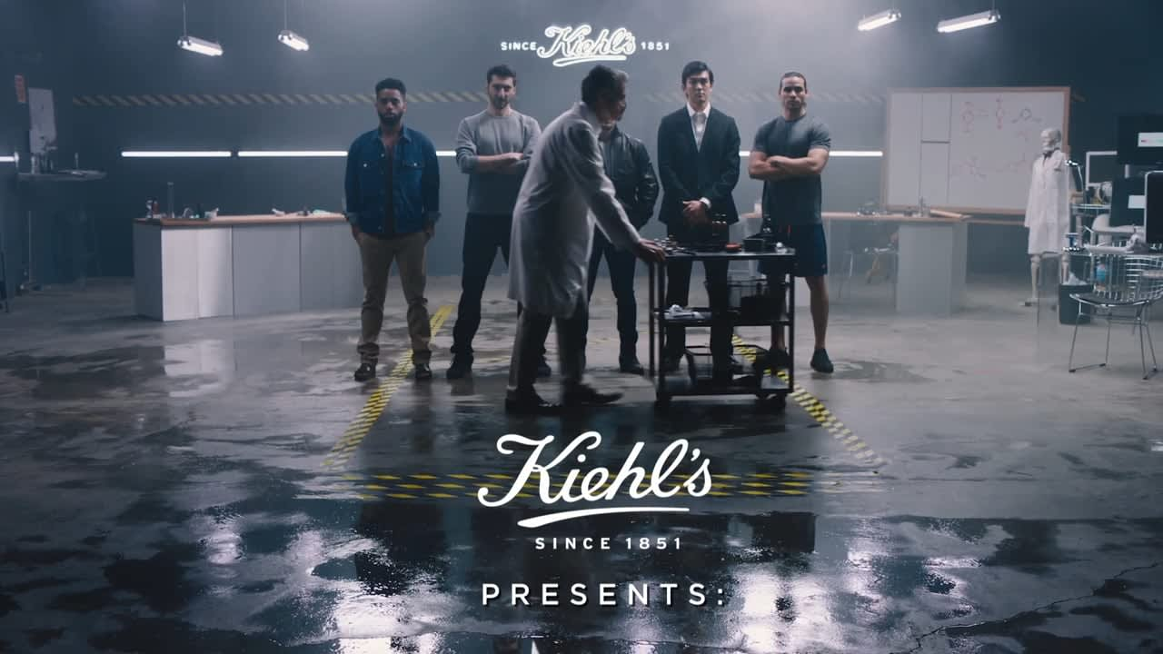 Kiehl's Men's Grooming Line Launch